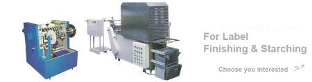 Serie de máquinas de acabado y almidón de marca registrada - Serie de máquinas de acabado y almidón de marca registrada