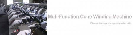 Muti-function Cone Winding Machine - Muti-function Cone Winding Machine