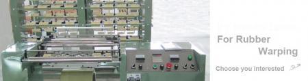 Rubber Warping Machine Series - Rubber Warping Machine Series