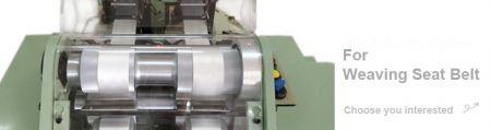 Máy dệt kim mục đích đặc biệt của dây an toàn - Dây đai an toàn Dòng máy dệt kim mục đích đặc biệt
