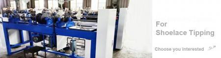Shoelace Tipping Machine Series - Shoelace Tipping Machine Series