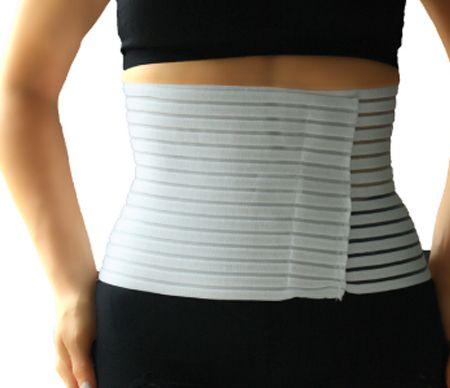 Reliure de soutien abdominal de machine et d'équipement élastiques - Soins médicaux du liant de soutien abdominal.