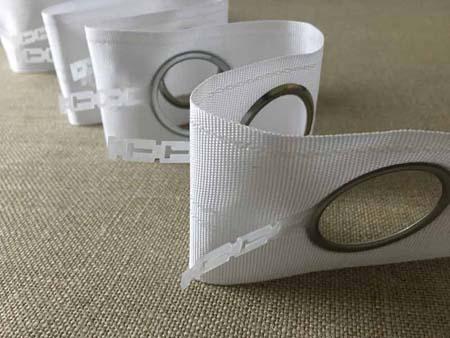 Eyelet Tape Curtains