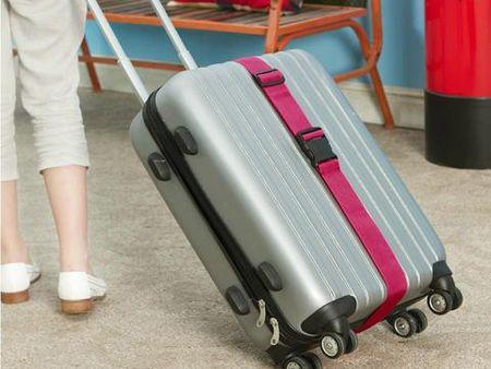 Monochrome Luggage Strap