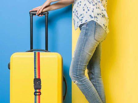 Correa de equipaje multicolor