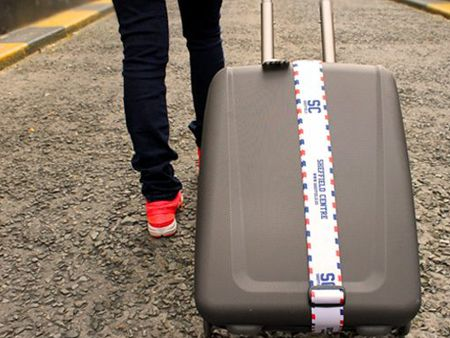 Sangle de bagage Jacquard