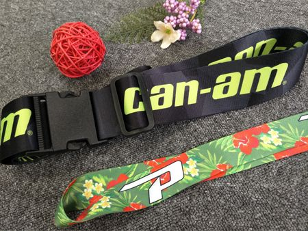 Printed Luggage Strap