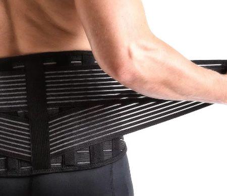 Lendenstützgürtel aus elastischer Maschine und Ausrüstung - Medizinische Versorgung des Lordosenstützgurtes