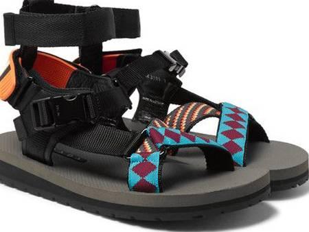 Tali Sepatu Datar dengan Jacquard.