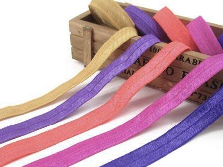Ruban élastique pour sous-vêtements (repliez l'élastique)
