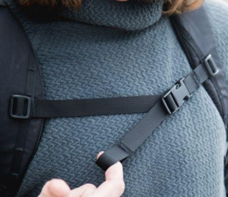 背包带之胸前扣带