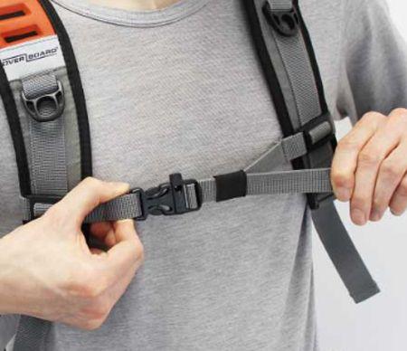 Sternum straps for backpacks