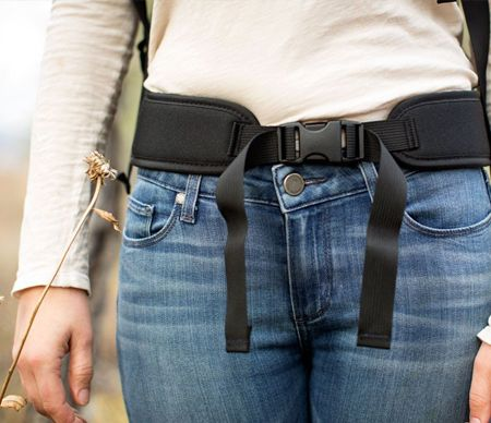 背包帶之腰部調節扣帶