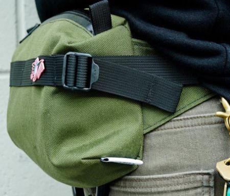 Waist adjustment straps for backpacks