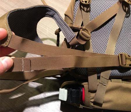 背包带之肩背调整带