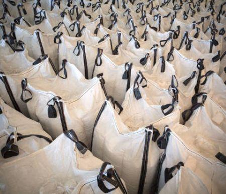 Объемная сумка с стивидорным ремнем