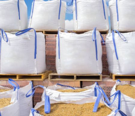 Bulk Bag With Stevedore Strap