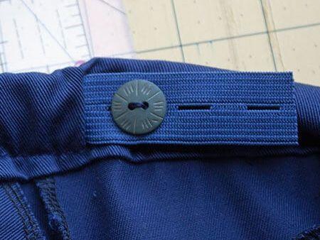 Buttonhole Elastic Tape