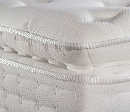 Cinta de colchón de tejido liso
