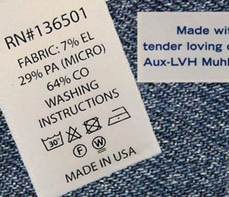 Étiquettes imprimées