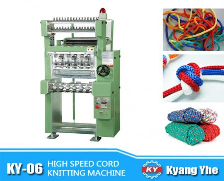 High Speed Cord Knitting Machine - KY-06 High Speed Cord Knitting Machine