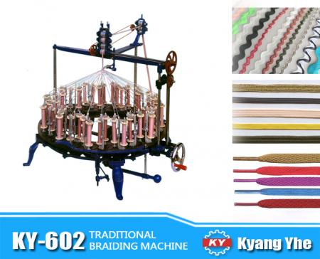 Traditional Flat Braiding Machine - KY-602 Traditional Flat Braiding Machine
