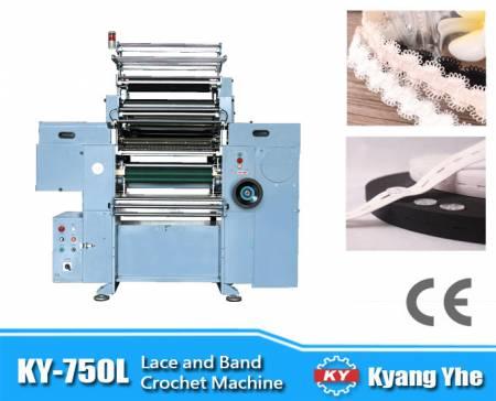 High Speed Lace Band Crochet Machine - High Speed Lace Band Crochet Machine