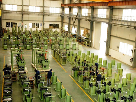 KY Shanghai Factory Assembly area