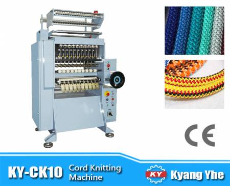 High Speed Cord Knitting Machine - KY-CK10 High Speed Cord Knitting Machine