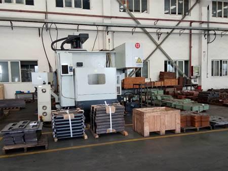 Zone de traitement de l'usine KY Shanghai