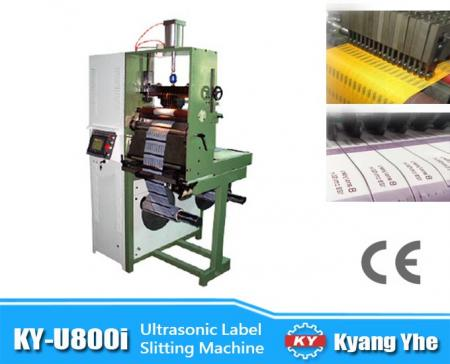 Ultrasonic Label Slitting Machine - KY-U800i Ultrasonic Label Slitting Machine