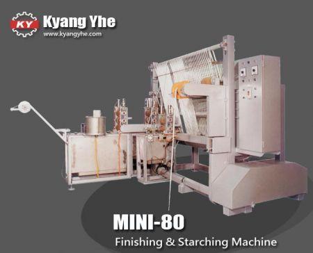 Çok Fonksiyonlu Terbiye ve Kolalama Makinesi - MINI-80 Terbiye ve Kolalama Makinası
