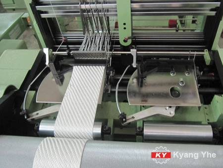 KY Needle Loom For PE Ribbon.