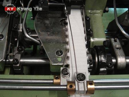 KY Needle Loom For double warp picot webbing.