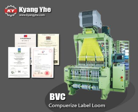 Professional Computer Jacquard Label Loom Machine - BVC Computer Jacquard Label Loom Machine