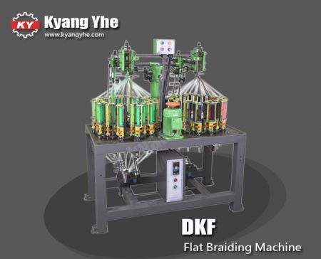 High Speed Flat Braiding Machine - DKF High Speed Flat Braiding Machine