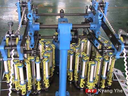 KY Flat Braiding Machine For Flat Rope.