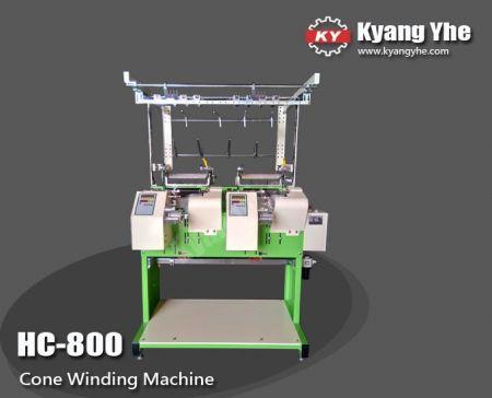 Çok fonksiyonlu Koni Sarma Makinesi - HC-800 Çok Fonksiyonlu Koni Sarma Makinesi