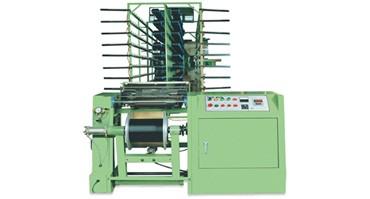 Machine d'ourdissage série de produits