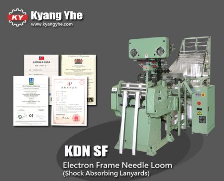 Particular Electron Frame Needle Loom Machine