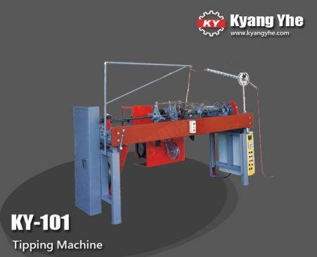 Máquina de volteo completamente automática - Máquina basculante completamente automática KY-101