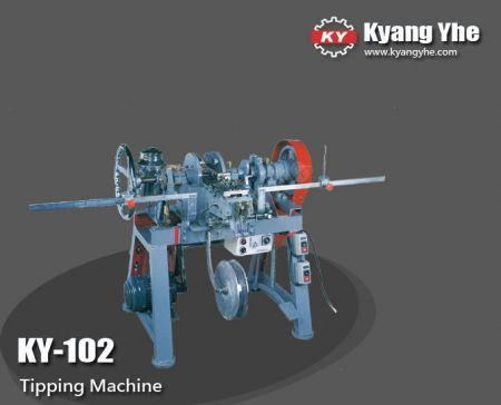 Máquina de tombamento semi-automática - Máquina de basculamento semiautomática KY-102