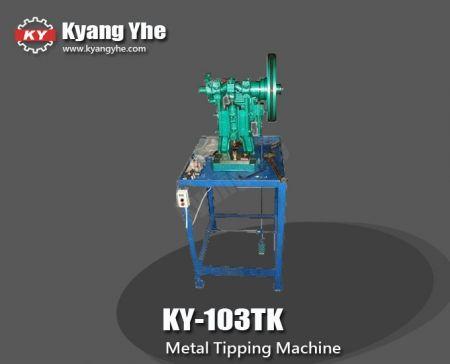 Máquina de volteo de metal - Máquina volcadora de metales KY-103TK