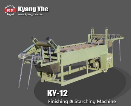 Finishing and Starching Machine