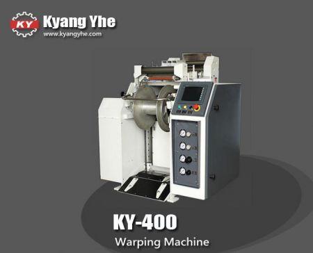 छोटी बीम वारिंग मशीन - KY-400 वारपिंग मशीन
