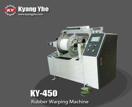 Middle Beam Rubber Warping Machine - KY-450 Rubber Warping Machine