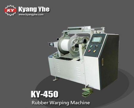 Mesin Warping Karet Balok Tengah - Mesin Warping Karet KY-450