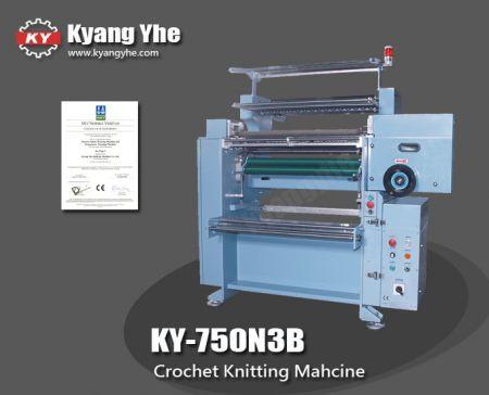플랫 밴드 크로 셰 뜨개질 기계