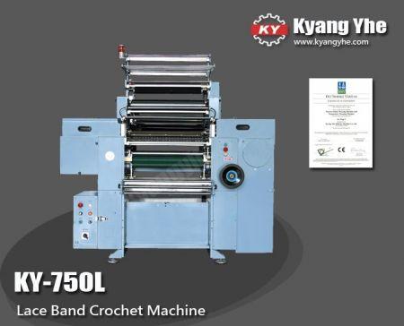 레이스 밴드 크로 셰 뜨개질 기계 - 고속 레이스 밴드 크로 셰 뜨개질 기계