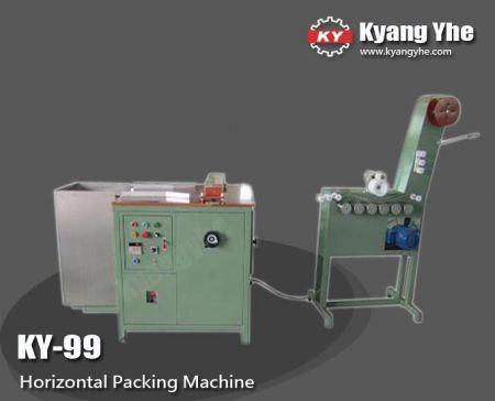 Máquina de embalaje horizontal - Empaquetadora de correas horizontales KY-99
